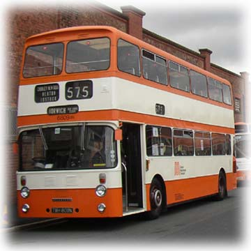 6809 Leyland Atlantean, among a batch ordered by Bolton Transport though inherited by SELNEC.