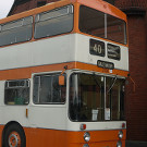 Seen in the 1974 Greater Manchester Transport livery.