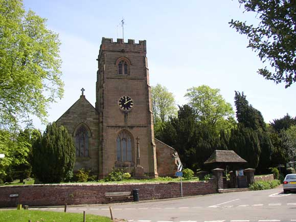 Clent Parish Church, Lower Clent, Worcestershire